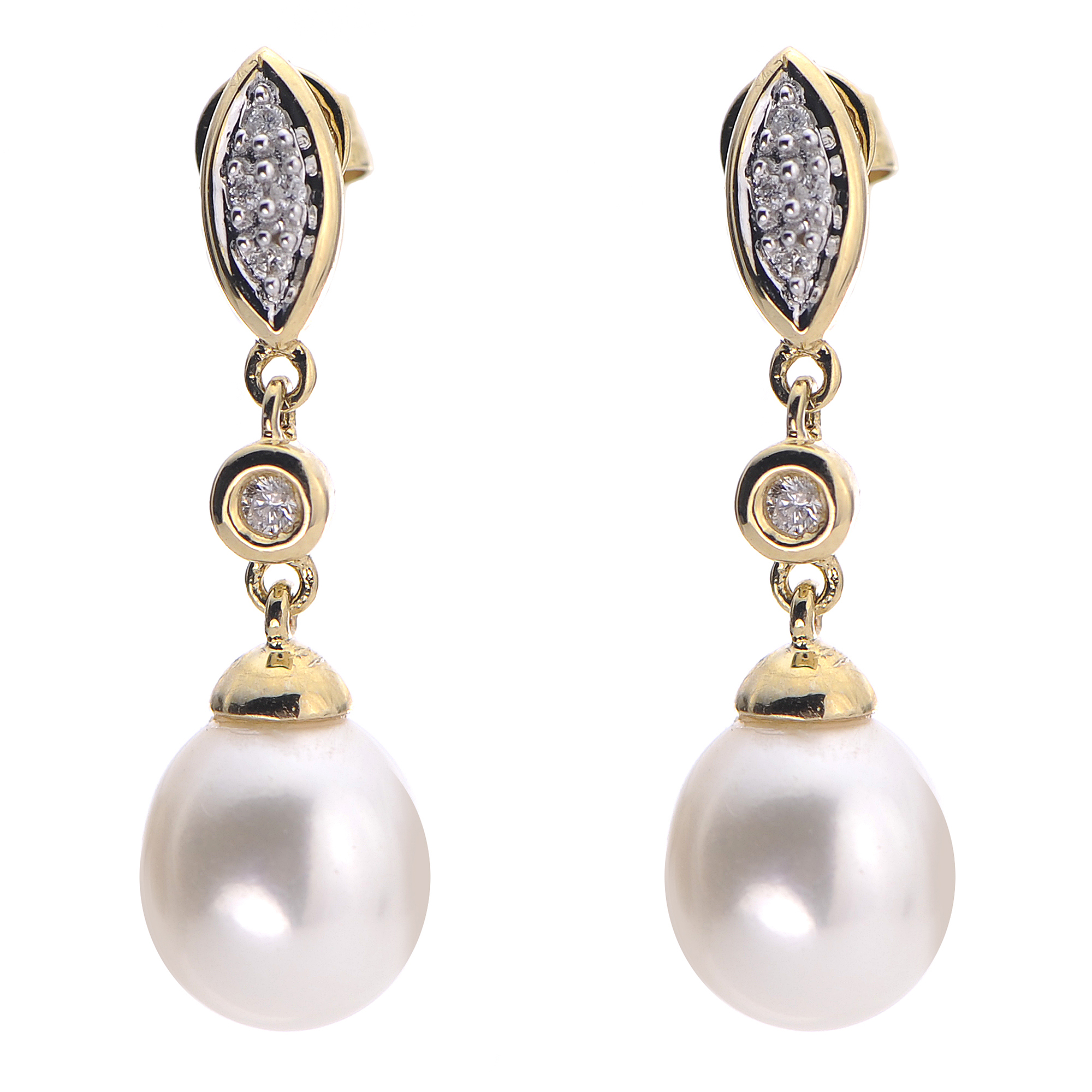 en pearl pearls earrings stud freshwater birks