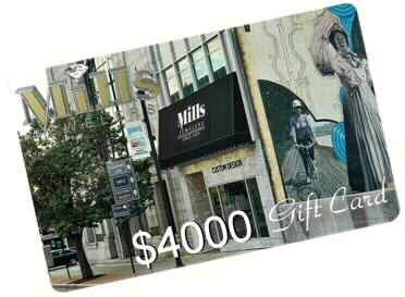 $4000 Mills Gift Card