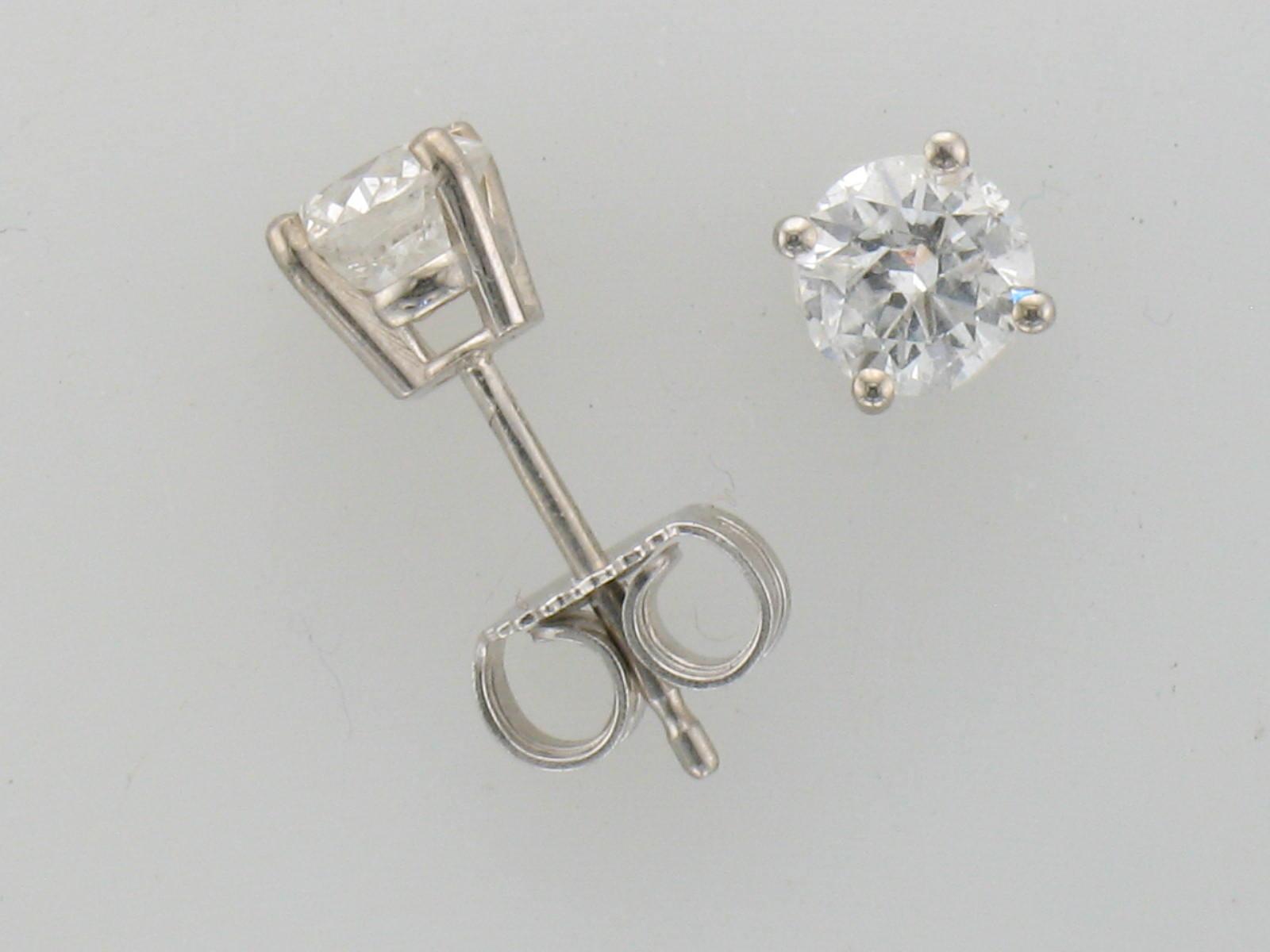 75ct Diamond Studs B Quality