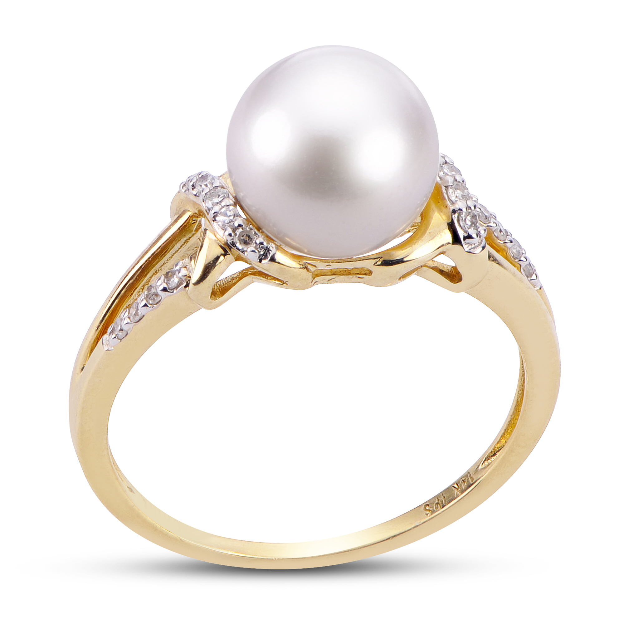 0702f0d1c 14K Yellow Gold Freshwater Pearl Ring - Mills Jewelers