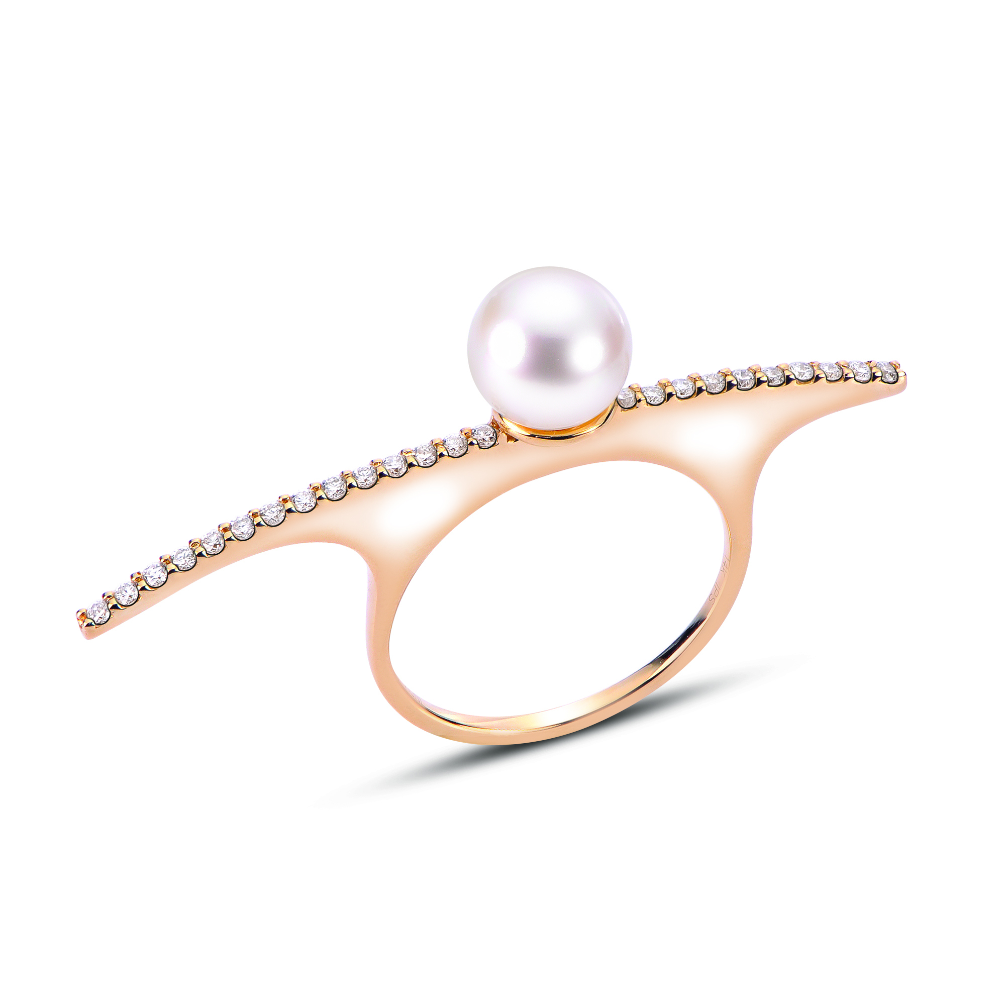1cb4568b5 14K Yellow Gold Freshwater Pearl Ring - Mills Jewelers