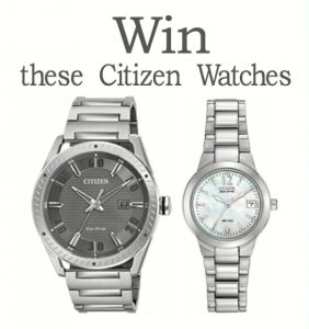 Citizen Eco-Drive Watch Giveaway