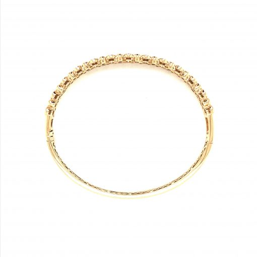 Champagne Bubbles Double Row Bracelet Yellow Gold