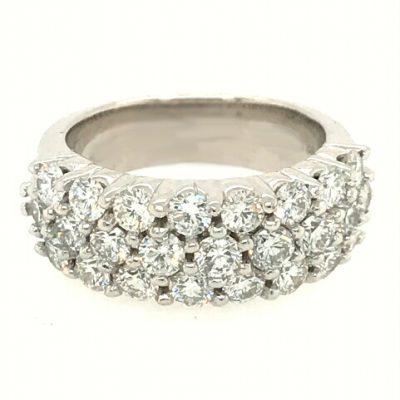 2.50 carat total 25 diamond ring