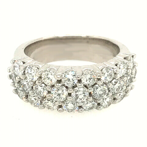 2.50 carat total 25 diamond ring