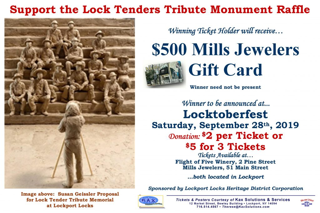 Lock Tender Memorial Raffle