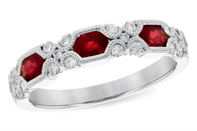 Ruby, Diamonds, Ring