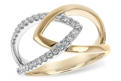 Apex two-Tone 14k Diamond Fashion Ring