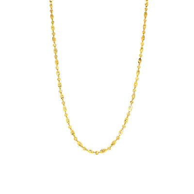 18k yellow gold overly, necklace