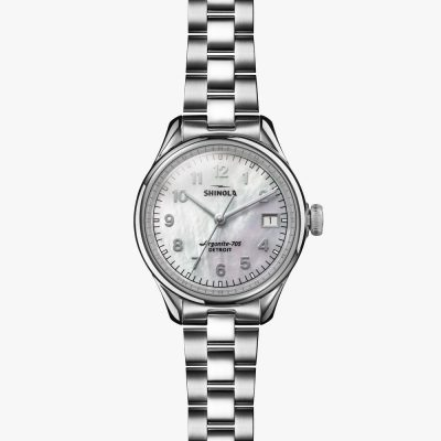shinola, watches, mother of pearl