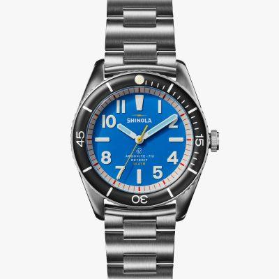shinola watch, water-resistant, duck
