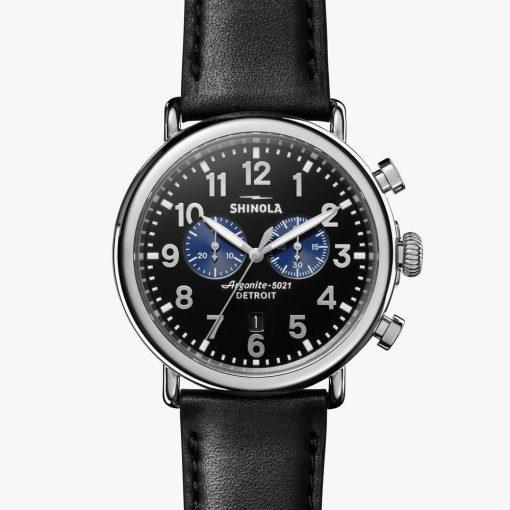 Shinola, Runwell Chrono, watch, black