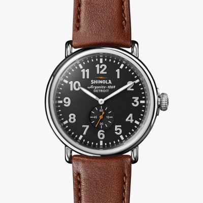 shinola, runwell, watch, cool gray dial