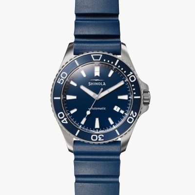 Shinola, Monster Automatic, Watch, Blue Dial