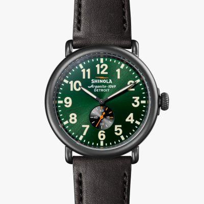 Shinola, Runwell, watch, Black