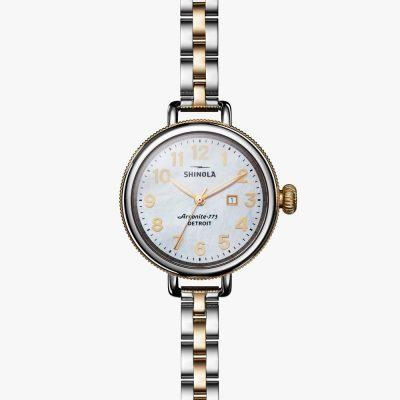 Shinola, Biridie, Women's watch, White Dial