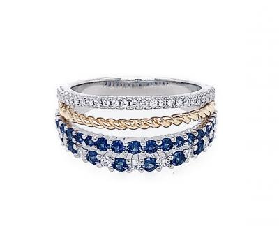quadruple stack ring