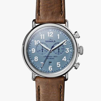 slate blue dial, 47mm