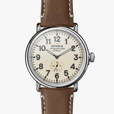 47mm, cream dial